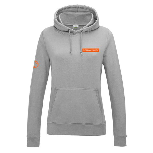 Women's Hoodie JH01F -sports grey