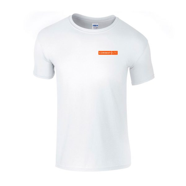 GD01B - Junior T-Shirt - White