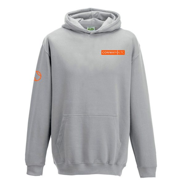 JH01J - Junior Hoodie - Heather Grey