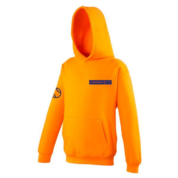 JH01J - Junior Hoodie - Orange